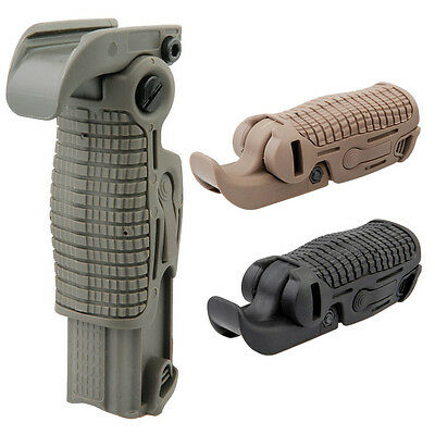 Faltbarer Frontgriff Frontgrip olive Airsoft Paintball PaintNoMore (13102)