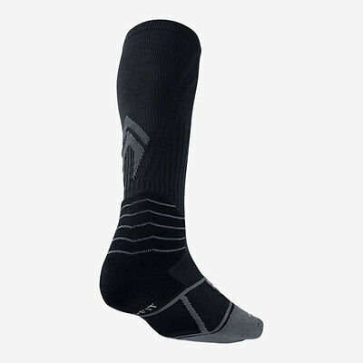 Nike Elite Vapor Over-The-Calf Baseball Socks Style Sx4844-006 Black M (6-8)
