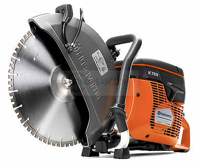 Husqvarna K760 Petrol Disc Cutter Saw 350mm 14""