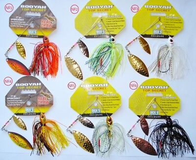 BooYah Spinnerbait TOP SECRET 27gr. Hecht Köder, Zander, Barsch