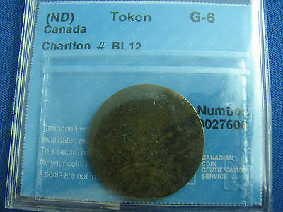 Blacksmith Token Canada BL-12