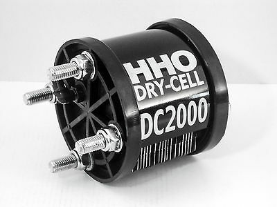 HHO Generator DC2000 19 Plates Dry Cell Hydrogen Engines  2400cc Fuel Economy