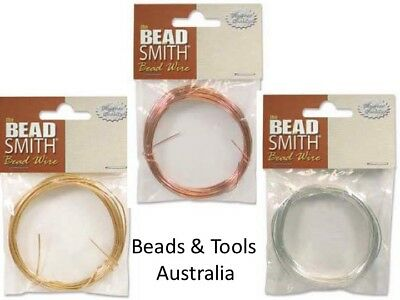 Beadalon German Wire: Various Colours & Gauges: Perfect temper for wire wrapping