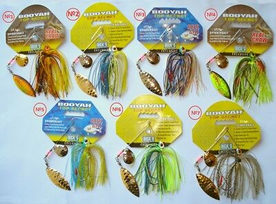 BooYah Spinnerbait TOP SECRET 17,5gr. Hecht Köder, Zander,Barsch