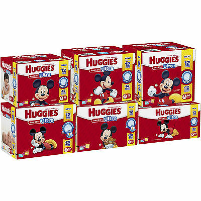 Huggies Snug & Dry Diapers, Size 1, 2, 3, 4, 5, 6 CHEAP!!!