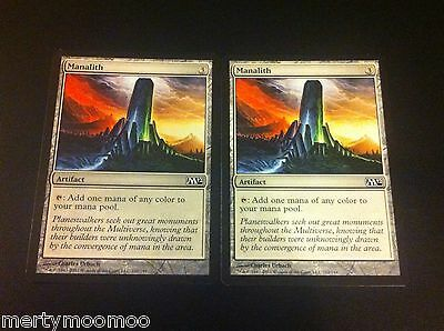 2 x Card MTG - Manalith - Magic 2012 1st Class Postage