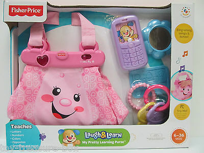 Fisher Price- Laugh & Learn- My Pretty Learning Purse - Ages 6-36 Months