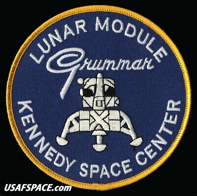 Grumman Lunar Module - Kennedy Space Center Apollo Moon Lander Patch