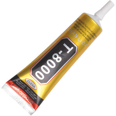 T-8000 50ml Multi-purpose Adhesive for DIY Jewelry Handicrafts Cell Phone Nails