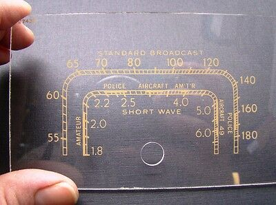 RCA tombstone radio dial for model 5T dial #27439  NEW LOWER PRICE !