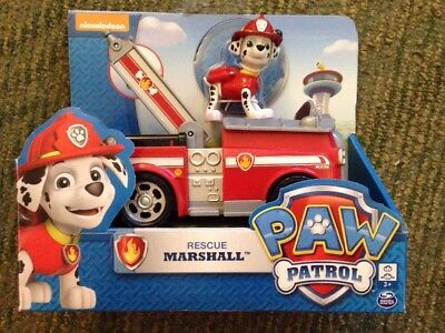 Brand New Paw Patrol Marshall Fire Fightin' Truck includes Vehicle and Figure