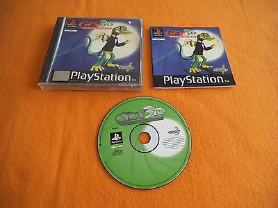 Gex 3D Return of the Gecko Playstation 1 PS 1
