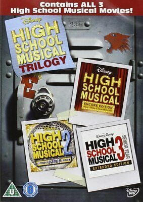 High School Musical 1-3  with Zac Efron New (DVD  2009)