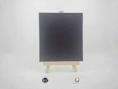 WOODEN EASEL 26 cm (10'') WITH CHAIN AND LAMINATED BLACKBOARD