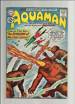 DC Comics Aquaman Issue #1 (1st Series 1962) Comic Book All pages Nice & Intact