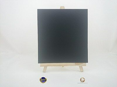 WOODEN EASEL 33 cm (13'') WITH CHAIN AND LAMINATED BLACKBOARD