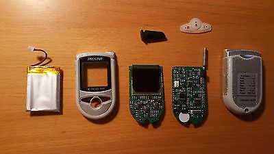Prostar gold OLED car alarm 2way LCD paging remote control parts J5/J6