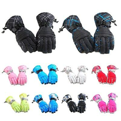 Men Women Snow Snowboard Ski Cycling Outdoor Gloves Windproof Winter Thermal