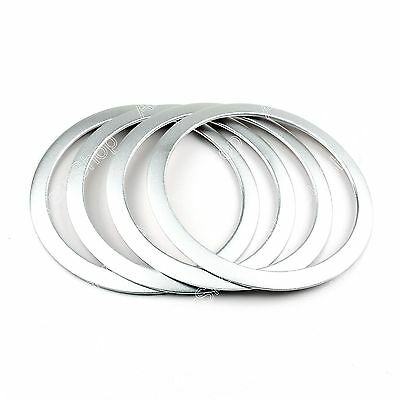 Interior Door Speaker Trim Cover Ring For BMW 3 Serie F30 F34 320 328 335 Silver