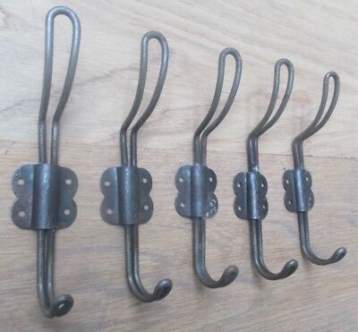 BUTTERFLY WIRE-industrial vintage retro style coat hooks hanging hooks peg