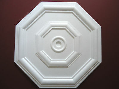 Ceiling Rose Size 460mm - 'Westminster' Lightweight Polystyrene *We Combine P&P*