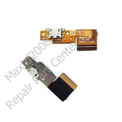 LCD Connector USB Charging Port Dock Charger Volume Flex Cable for LENOVO B8000