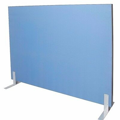 1800W x 1500H BLUE Acoustic Screen Fabric Pinable 1815SCREEN - Brisbane