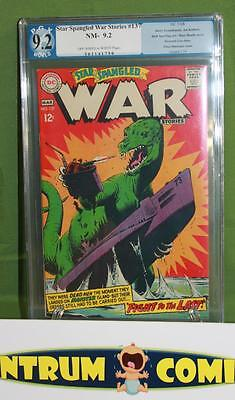 Star Spangled War Stories #137 PGX 9.2  -  DC 1968 last dino issue... ow/w pages