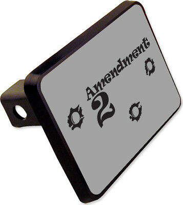 """Ruger Receiver Black Hitch Cover 2/"""" Black ABS"""