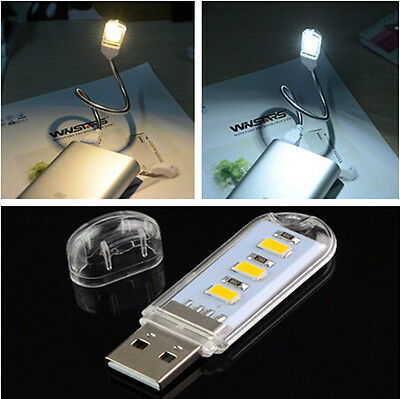 USB LED Light Lamp For GRAU Computer Keyboard Reading Laptop Notebook PC