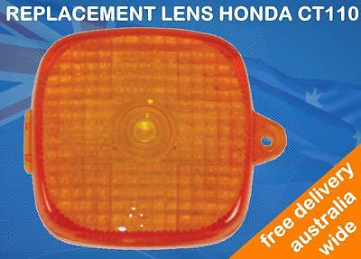 Replacement Lens Lense Suits Honda Ct110 Posty Bike Postie 1991 - 2013 Model