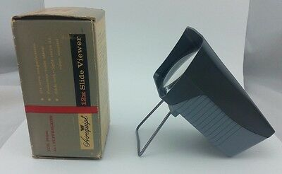 vintage Airequipt 12X Slide Viewer for 35mm & superslides USA, As Is! LOOK! nice
