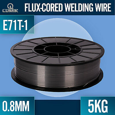 0.8mm/ 5kg Flux Cored Mig Welding Wire E71T-1 Welder Machine