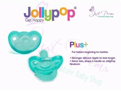 Jollypop ~ The New Gumdrop ~ Dummy  Pacifier Soother 3 Month Plus Teal