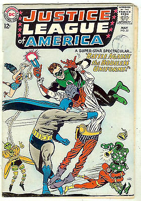 Justice League of America #35 (1965 fn- 5.5) guide value: $30.00 (£20.00)