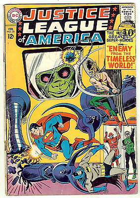 Justice League of America #33 (1965 fn-vf 7.0) guide value: $55.00 (£37.00)