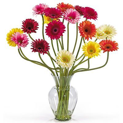 "21"" Gerbera Daisy Silk Flower Arrangement -Assorted"