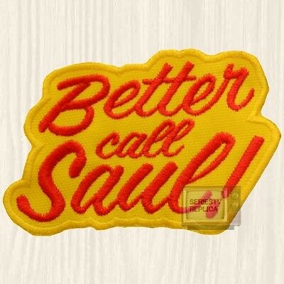 Better Call Saul Patch TV Series Walter White Goodman Breaking Bad Embroidered