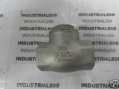 Kitz Stainless Swing Check Valve 2'' 200 S14A New