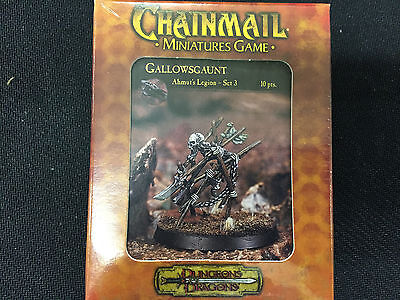 Dungeons and Dragons Miniatures Chainmail Gallowsgaunt NIB 2002