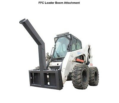 Lift Boom Attachment for Skid Steer Loaders - FFC Loader Boom attachment