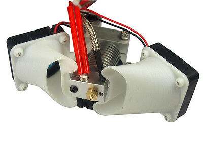 V6 Ultimaker 2 Hot End 0.4mm Nozzle Extruder Thermocouple fr 1.75mm 3mm Filament