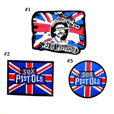 Sex Pistols British UK Hard Rock Band Music Collectible Embroidery Iron on patch