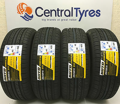 New Tyre 205 55 R16 91W M+S Boto Genesys With Amazing C+E Rating Cheap On Ebay