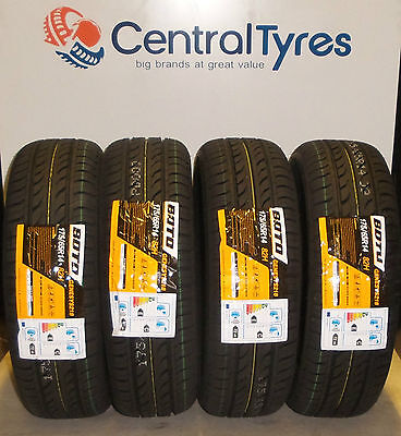 X4 New Tyres 175 65 R14 82H Boto Genesy 218 With Amazing Rating C+E Cheap