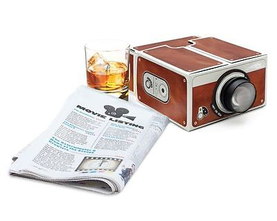 Smartphone Projector 2.0 Cinema In A Box Preassembled Fits All Iphones Luckies