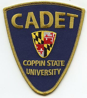 Coppin State University Maryland Md Cadet Police Patch