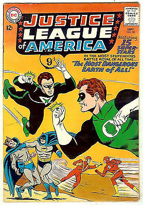 Justice League of America #30 (1964 vf- 7.5) guide value: $119.00 (£90.00)