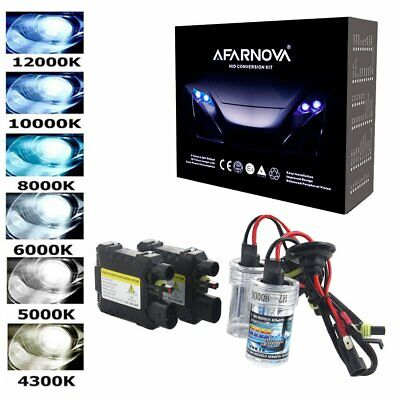 55W HID Xenon Conversion KIT Headlights Bulbs Ballast Car Light H1 H3 H4 H7 9005