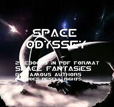 CD- A Space Odyssey Collection - 21 eBooks (Resell Rights)